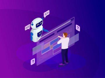Disegno chatbot con persona - Chatbot cosa sono e come sfruttarli al meglio - Web Agency Perugia - The Brick House