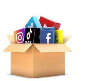 Icone social media dentro una scatola - I principali trend del terzo trimestre 2020 - The Brick House