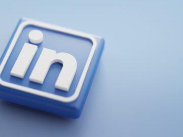 Logo 3D LinkedIn -5 strategie LinkedIn B2B