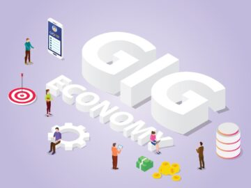 Scritta Gig Economy - Linkedin e Gig Economy: nuove opportunità per i freeplance