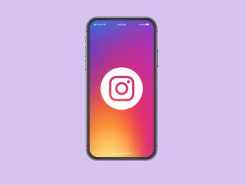 Telefono con lo Instagram - nuova funzionalità instagram stories - Web Agency Perugia - The Brick House